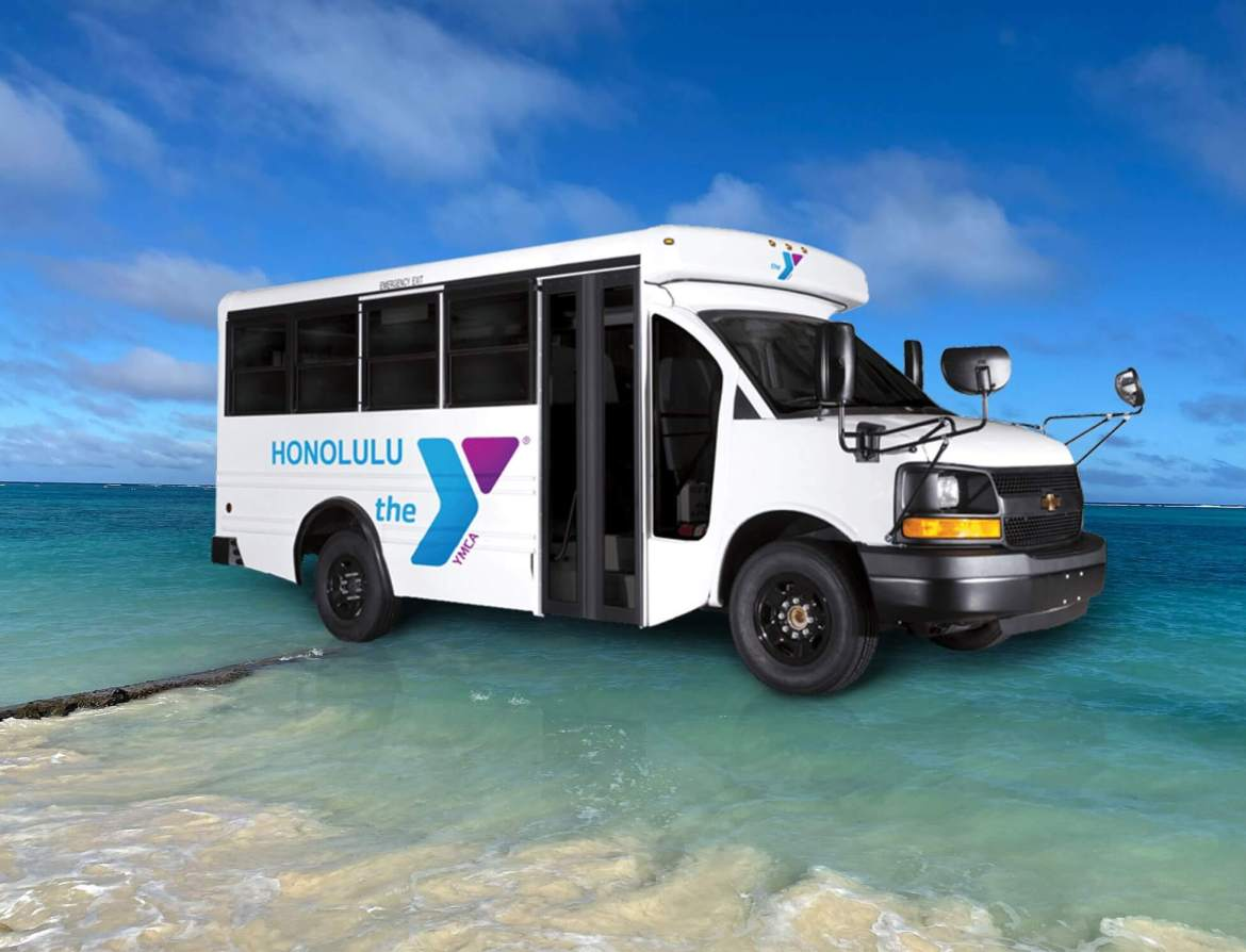 specialty school buses are available from Soderholm Bus and Mobility in Oahu