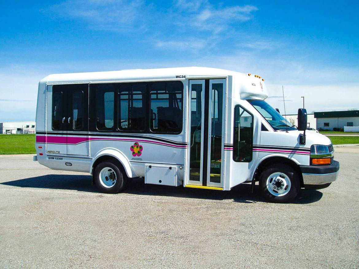 a small shuttle cutaway bus offers great transportation options for Hawaii residents